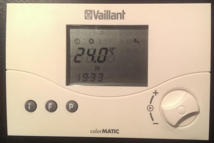 decoding the wireless heating control vaillant calormatic. Black Bedroom Furniture Sets. Home Design Ideas